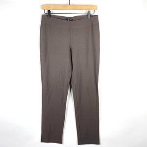 Eileen Fisher Pants Stretch Crepe Slim Ankle